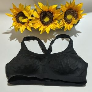 Victoria's Secret Sports Bra 36C Black